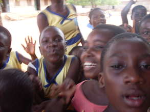 The Children at Gbawe Methodist School