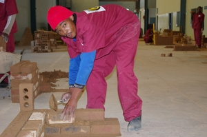 Bricklaying skills