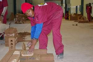 Skills training for 20 unskilled South African men