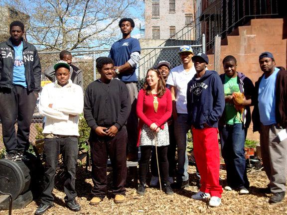 BRM Youth Farm Interns