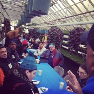 Commercial Urban Agriculture class getting started