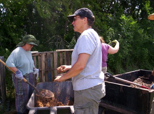 Compost Workshop at WEI's Amador Hill Campus