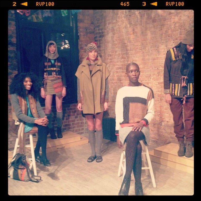 F/W 2012 collection