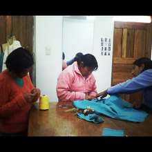 Seamstresses Working On Production
