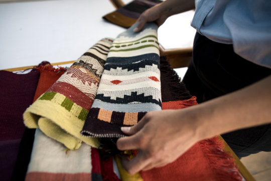 Beautiful weavings from our partner artisans