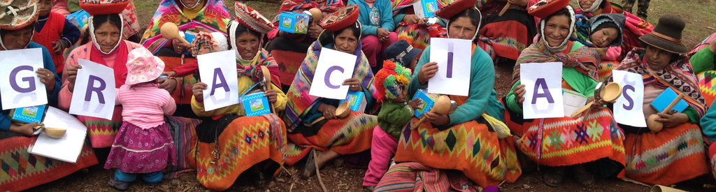 Thank you from one of our weaving groups