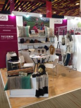 Awamaki booth at Peru Moda