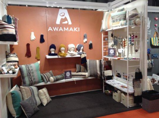 Awamaki Booth at NY NOW