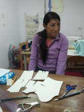 Florentina studying Pattern making