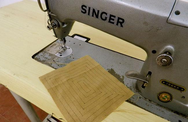 Industrial Singer Machine