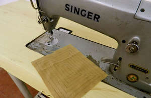 Industrial Singer Machine