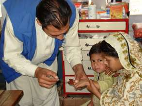 Health & Nutrition: 600 patients treated daily