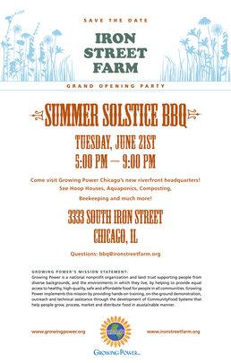 Help Build Iron Street Farm on Chicago's Southside