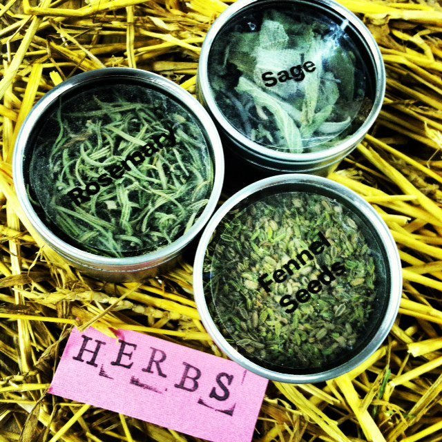 Youth Gift Baskets- Dried Herbs
