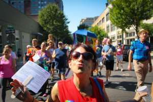 Great energy at AIDS Walk Portland!
