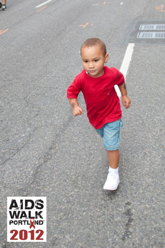 Walking to Fight HIV/AIDS