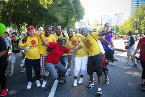 Happy AIDS Walk Portland team