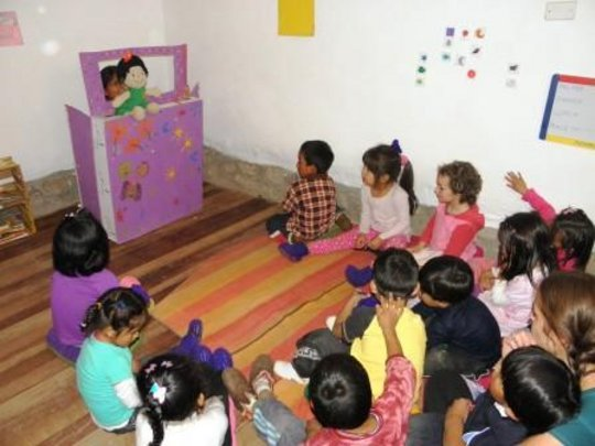 Daycare for Kids of Working Mothers in Rural Peru