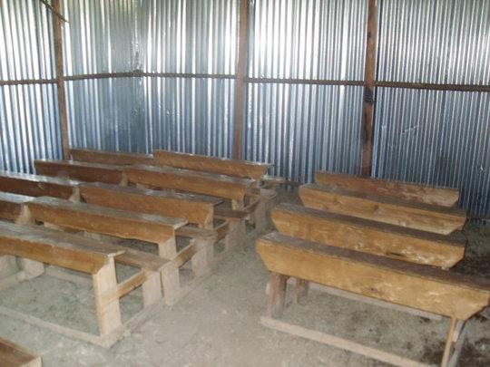 Inside of new school