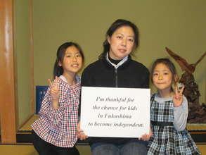 Photo from Fukushima Kids Executive Committee