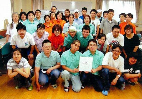 Workers from Keyaki Workshop