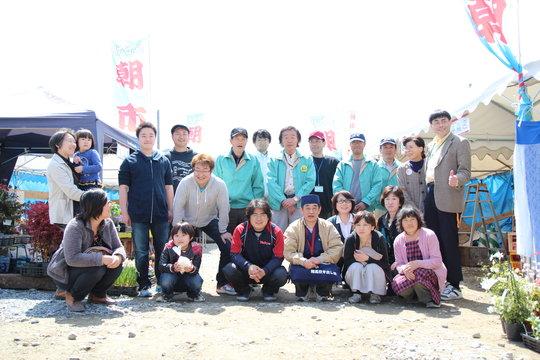 Fellows and community at Rikuzen Takata - ETIC.