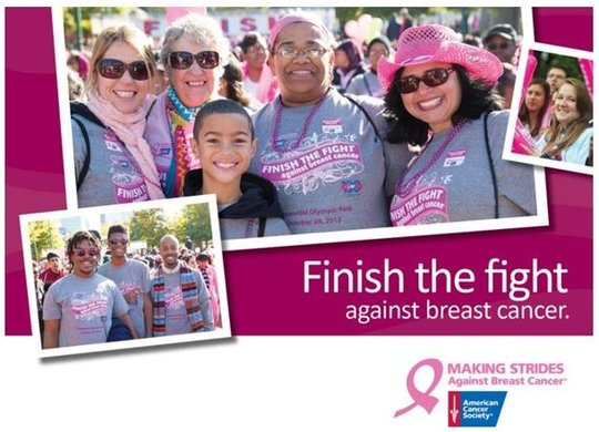 Making Strides - Finish The Fight!