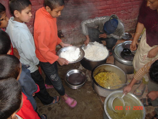 Destitute and Orphaned children of Nepal