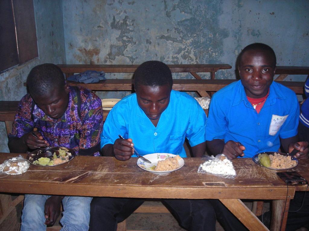 feeding of OVC in school