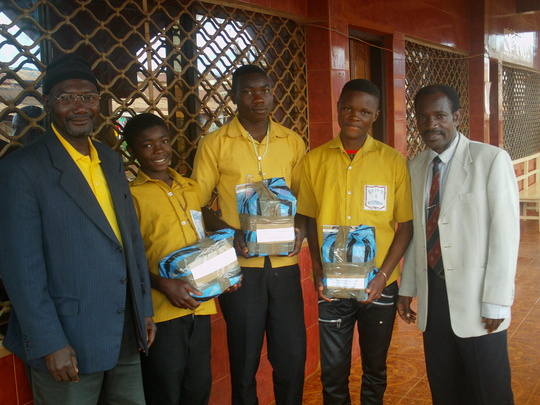Some OVCs received gifts for good performance
