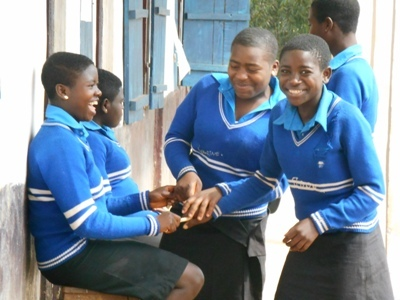 Students play during short breaks.