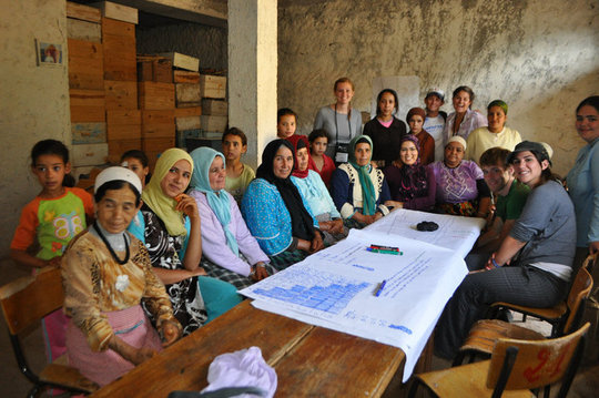 Support Girls and Women's Co-Ops in Morocco