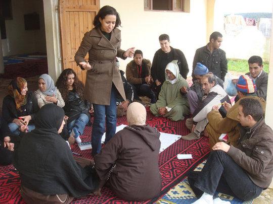 2011 development training w/ university student