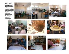 Field Train Elected Women in Ben Guerir 9/2012 (PDF)