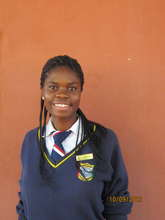 Photo of Margaret in her school uniform