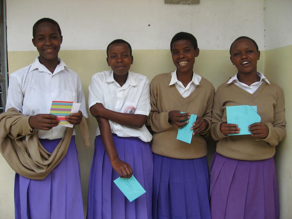 Tanzanian Secondary School Scholarship Recipients
