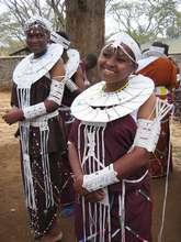 Graduating students in Tanzania