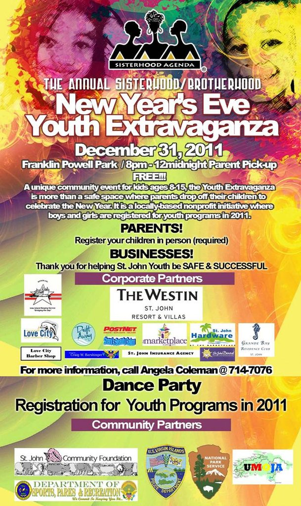 Youth Extravaganza Poster