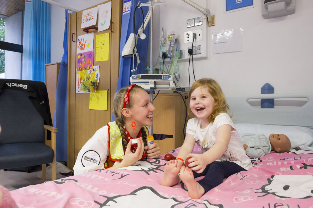 Dr Dotty and Maisie having a giggle