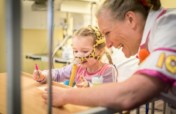 Fun and laughter for children in hospital