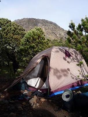 Tent & Tajumulco