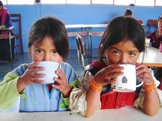 Education for Indigenous children in Rural Ecuador