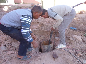 Preparing the new well
