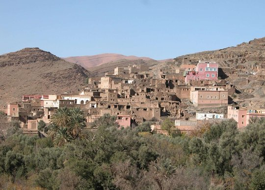 Village in Taroudant(see image citation in report)