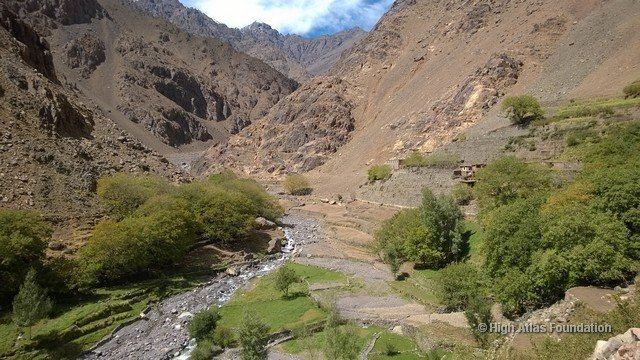 Valley in Toubkal Municipality