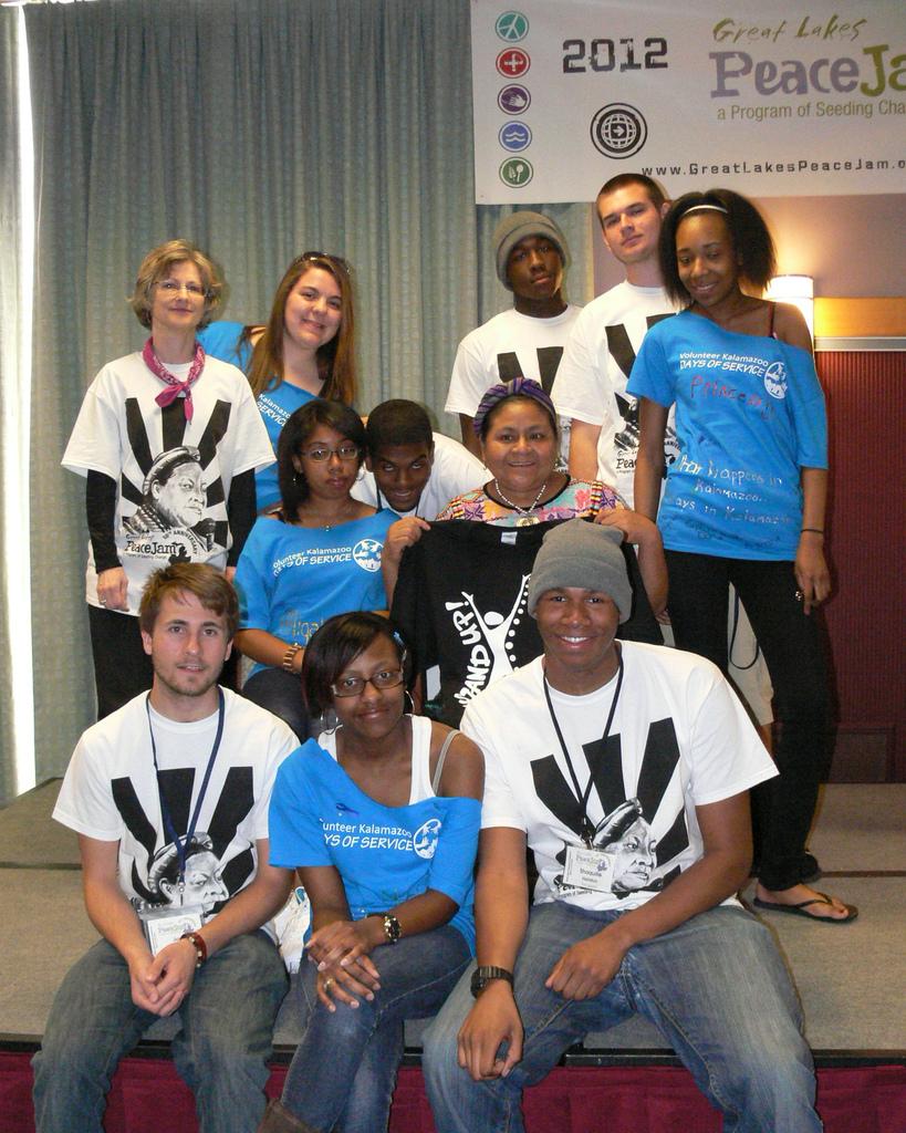 Euclid PeaceJam Club with Laureate
