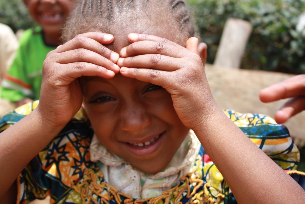 A borroro girl at Mbosh village