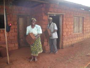 Uk volunteer from 2 way development  at work.