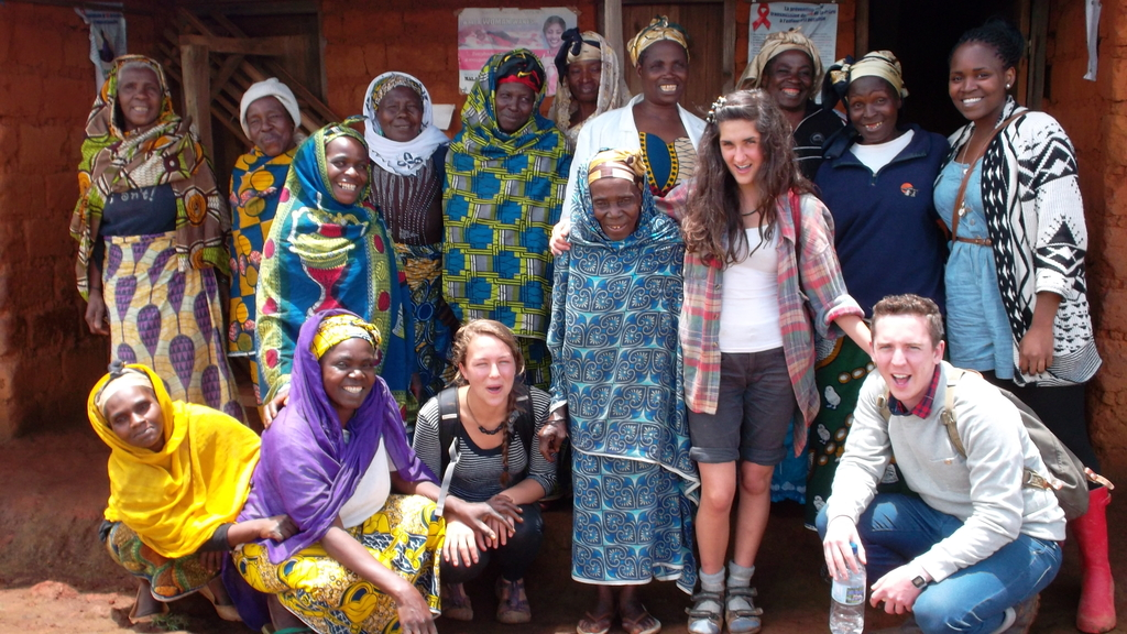 Volunteers and the Women group