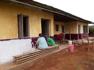Help Mbosha women build a primary health centre.